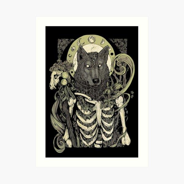 Lycanthropy  Art Print