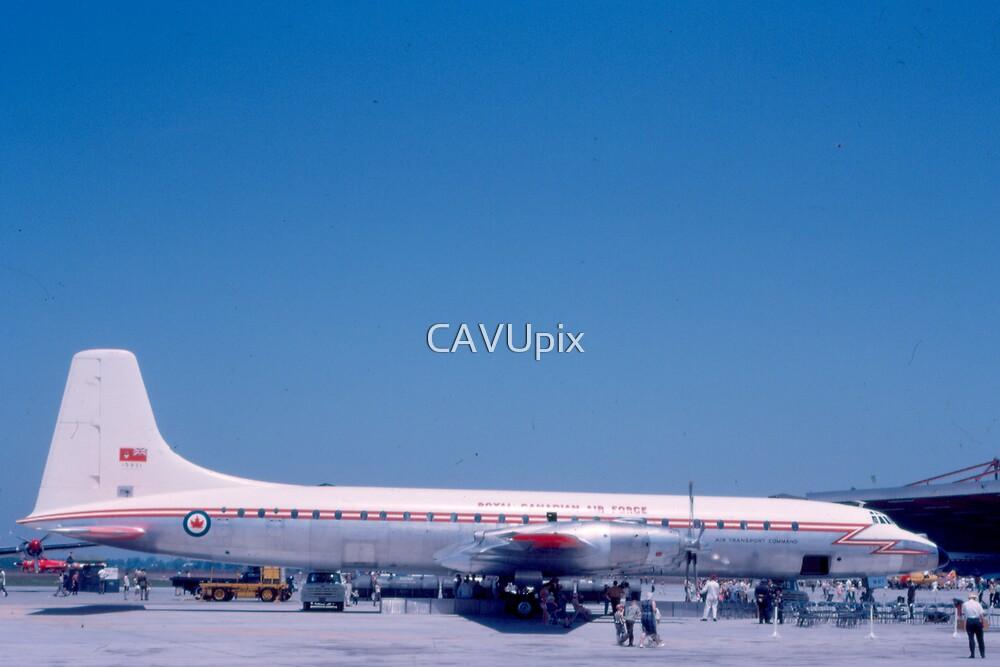 Canadair CC-106 Yukon - Rare Aircraft / Airplane Photograph by CAVUpix