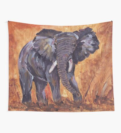 Gentle giant Wall Tapestry