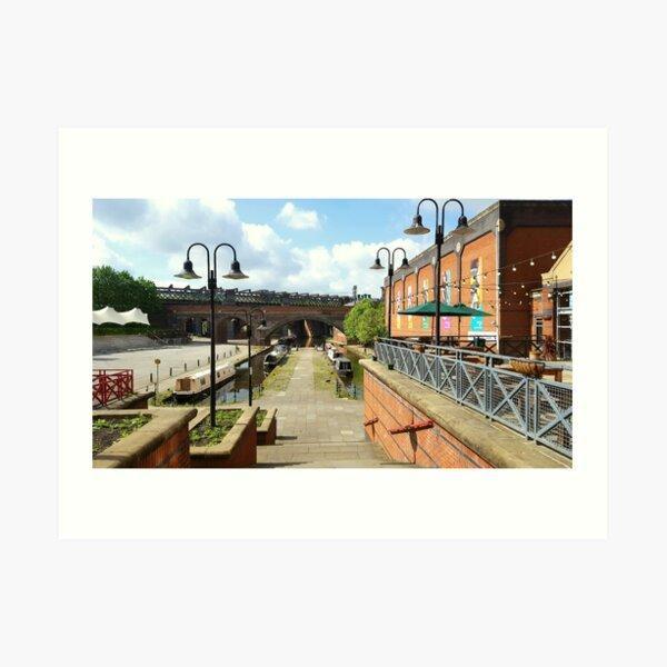 Manchester Castlefield Art Print