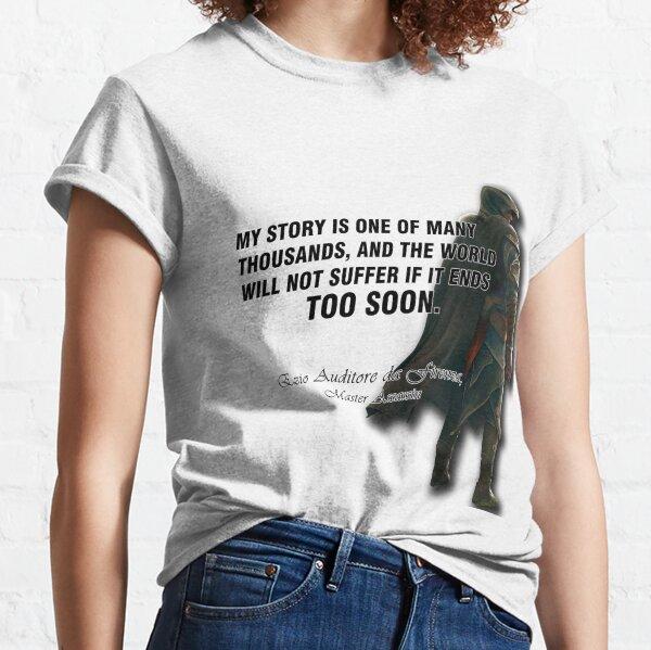 Ezio Auditore da Firenza Quote Classic T-Shirt
