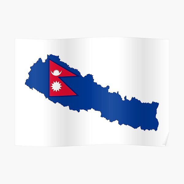 Flag of Nepal Poster