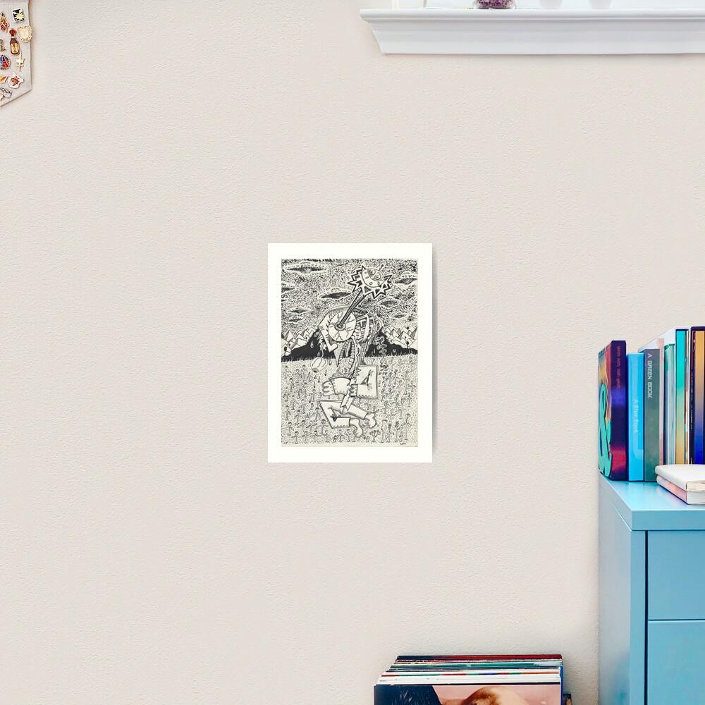 Invasion, or, The Seeding Art Print