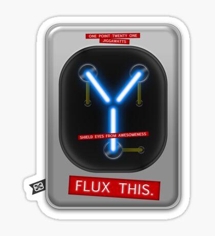 Flux This Sticker