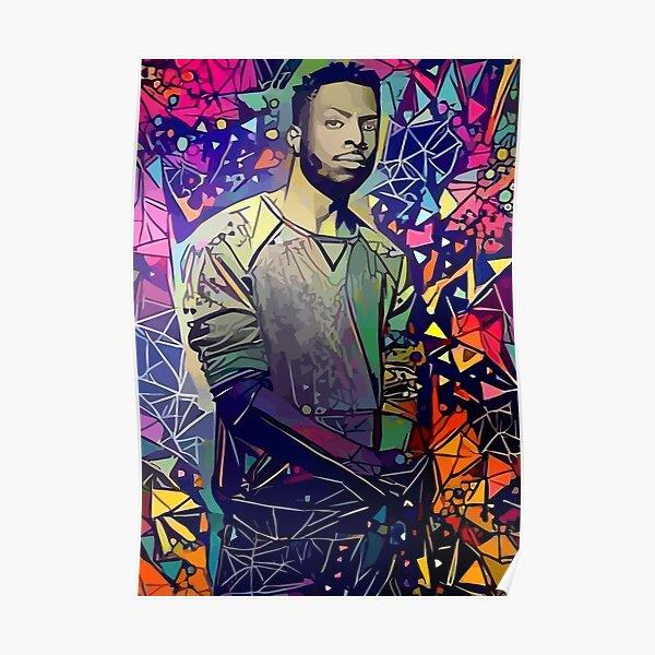 Abstract Isaiah Rashad Poster