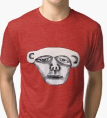 Monkey Head Tri-blend T-Shirt
