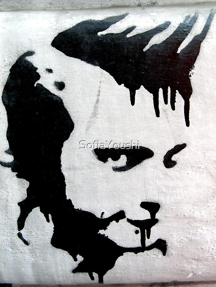 PUNK HEAD GRAFFITI  by SofiaYoushi