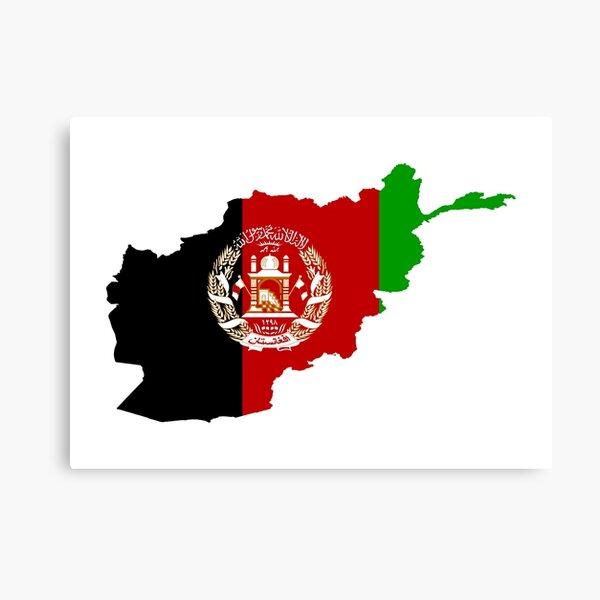 Afghanistan Flag Wall Art Redbubble