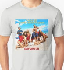 Baywatch The Hotest Lifeguard ever Unisex T-Shirt