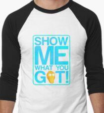 mister mees Men's Baseball ¾ T-Shirt