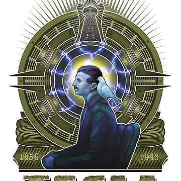 Nikola Tesla by artofkaa