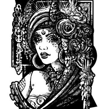 Bellydance goddess by artofkaa