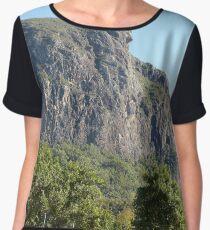 Mt Tibrogargan - Glasshouse Mountains Women's Chiffon Top