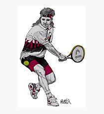 Tennis Agassi Photographic Print