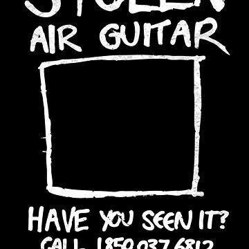 Stolen Air Guitar by DieselLaws