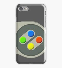 SNES Buttons iPhone Case/Skin