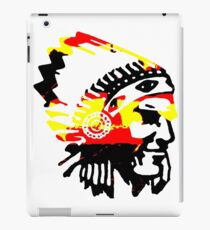Chief Tri Color Native iPad Case/Skin