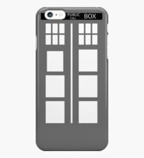 Police Public Phone Box, Who? Doctor! iPhone 6s Plus Case