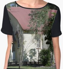 The old church - Upper Caboolture Women's Chiffon Top
