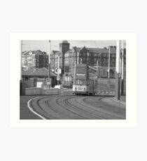 Blackpool city Art Print