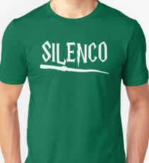 Cool Parody Magic Wand Silenco Fan Design Unisex T-Shirt