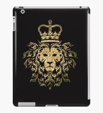 Vintage Magestic Lion iPad Case/Skin