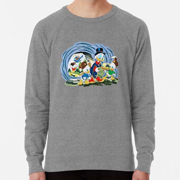 Ducktales, classic cartoon series Lightweight Sweatshirt