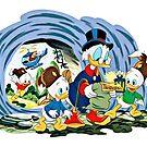 Ducktales, klassische Zeichentrickserie von RainbowRetro