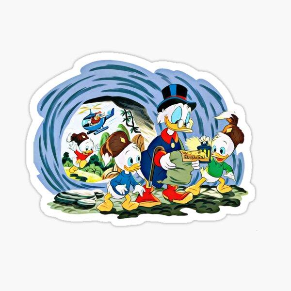 Ducktales, classic cartoon series Sticker