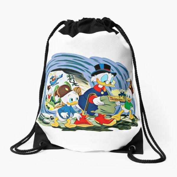 Ducktales, classic cartoon series Drawstring Bag