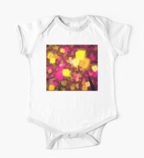 Yellow Pink Cubes One Piece - Short Sleeve