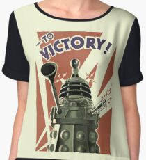 Dalek To victory Chiffon Top