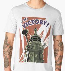 Dalek To victory Men's Premium T-Shirt