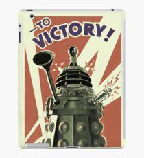 Dalek To victory iPad Case/Skin