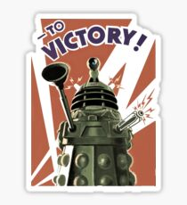 Dalek To victory Sticker