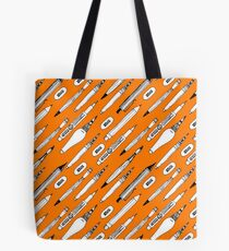 Brushes and pencils Tote Bag