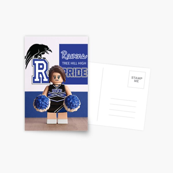 One Tree Hill - Brooke Davis themed greetings card Postcard