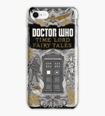 Time Lord fairy tales iPhone Case/Skin