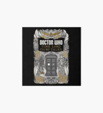 Time Lord fairy tales Art Board