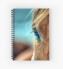 Horse Eye Spiral Notebook