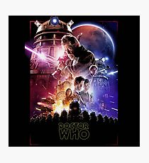 Doctor Who series Photographic Print