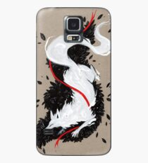 WHITE FOX RIBBONS  Case/Skin for Samsung Galaxy