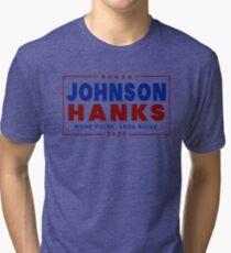 Johnson Hanks 2020 Tri-blend T-Shirt
