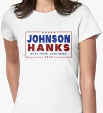 Johnson Hanks 2020 Womens Fitted T-Shirt