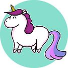 Cute Unicorn by Fiona Reeves