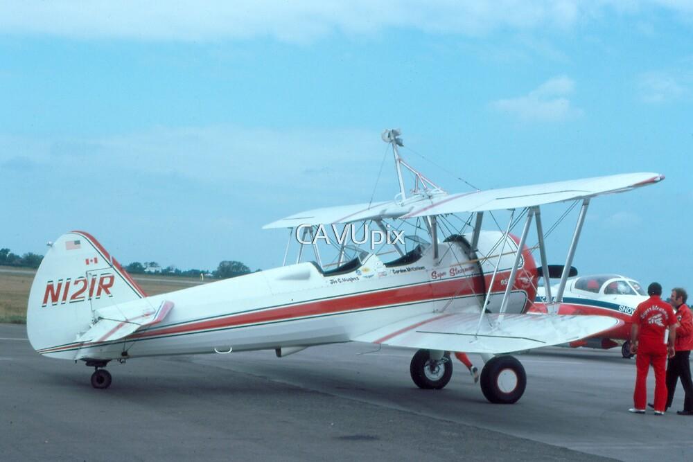 Stearman Super Stearman - Rare Aircraft / Airplane Photograph by CAVUpix
