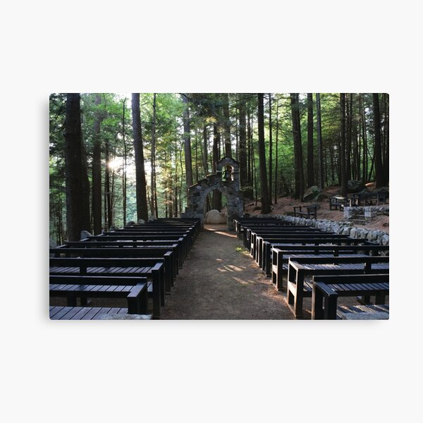 Mowglis Chapel Canvas Print