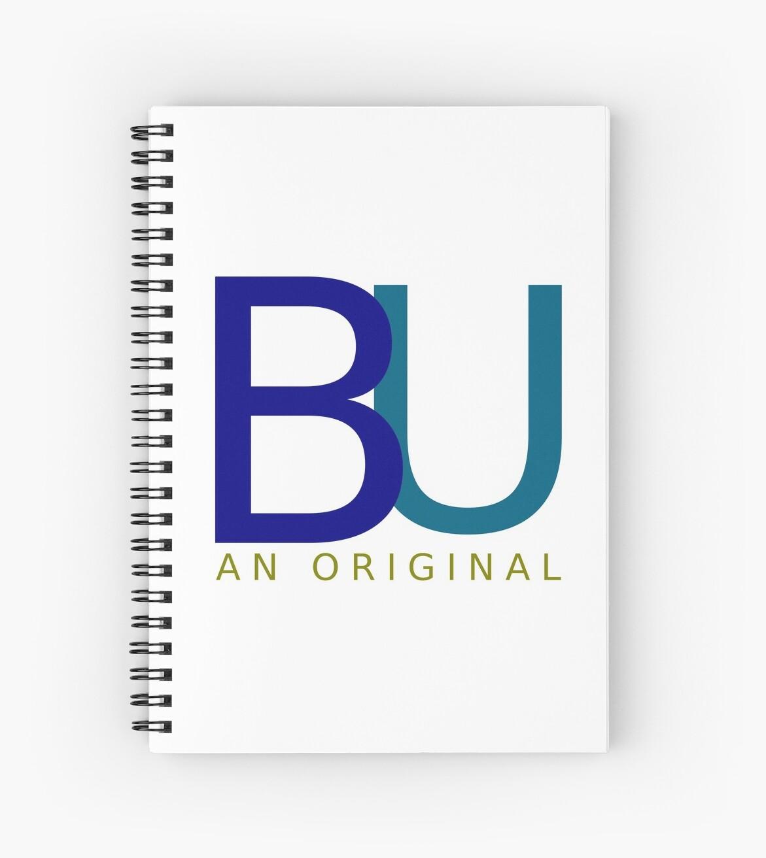 BU An Original Spiral Notebooks
