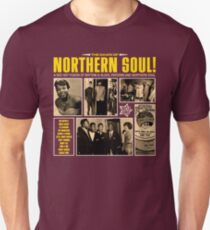 a red hot fusion of rythm & blues, popcorn and northern soul Unisex T-Shirt