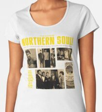 A Red Hot Fusion of Rythm and Blues, Popcorn and Northern Soul Women's Premium T-Shirt